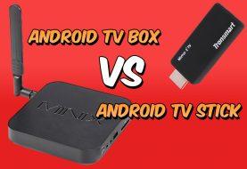 Android TV Box vs Android TV Stick: conoce la diferencia