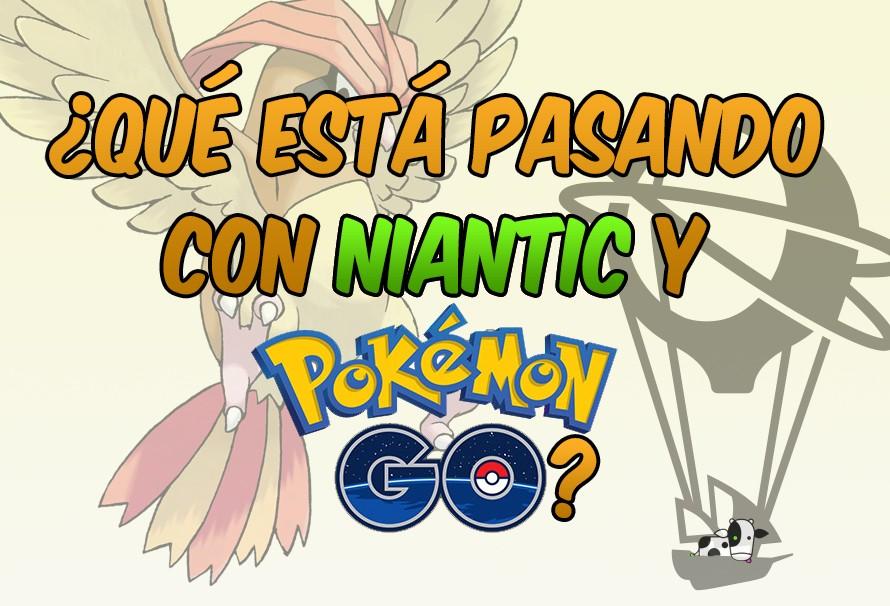 ¿Qué está pasando con Niantic y Pokémon Go?