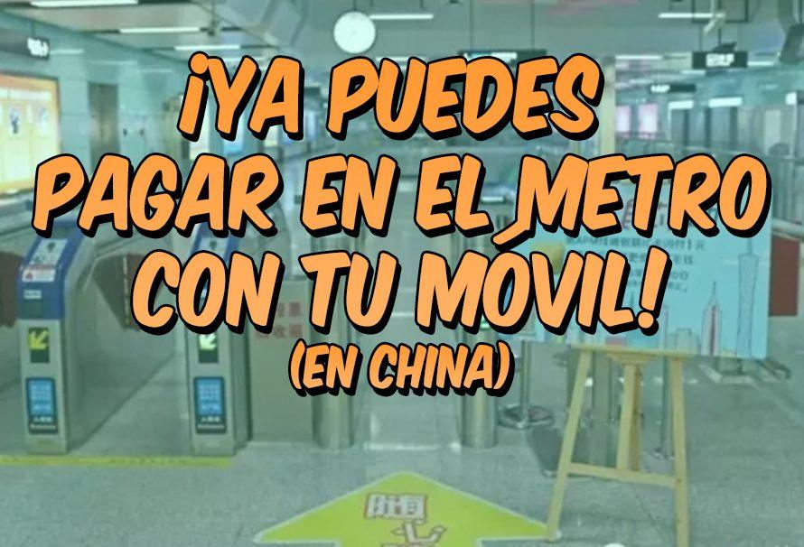 China implanta el uso de pago por móvil en estaciones de metro