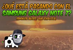 ¿Qué está pasando con el Samsung Galaxy Note 7?