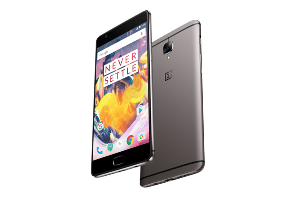 One Plus 3T trasera