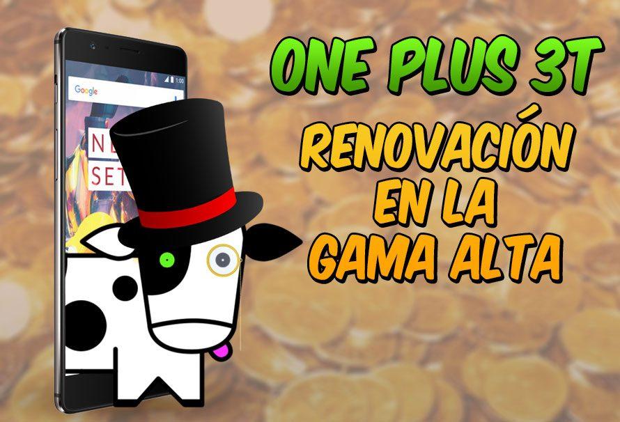OnePlus 3T, renovación en la gama alta