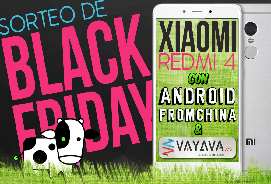 Sorteamos un Xiaomi Redmi 4 por Black Friday