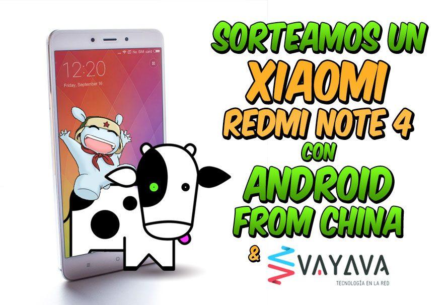 Sorteo de Xiaomi Redmi Note 4