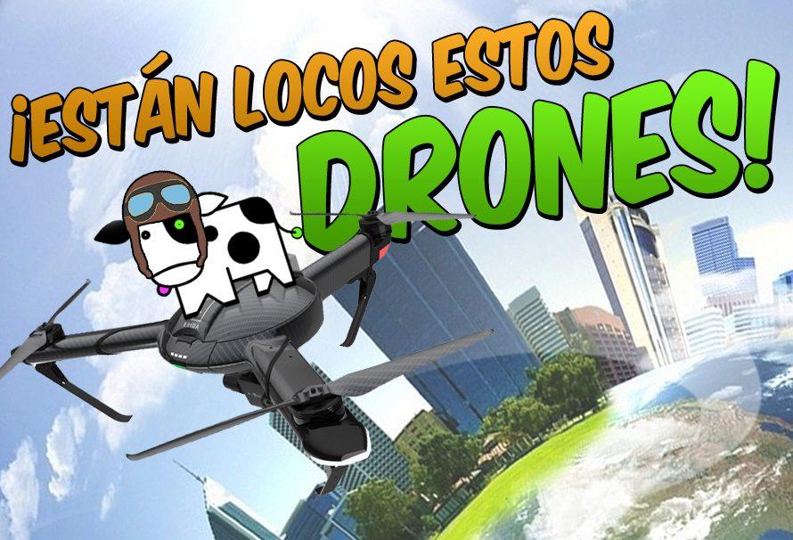 Están locos estos drones: las situaciones más absurdas en las que se ha visto metido un dron