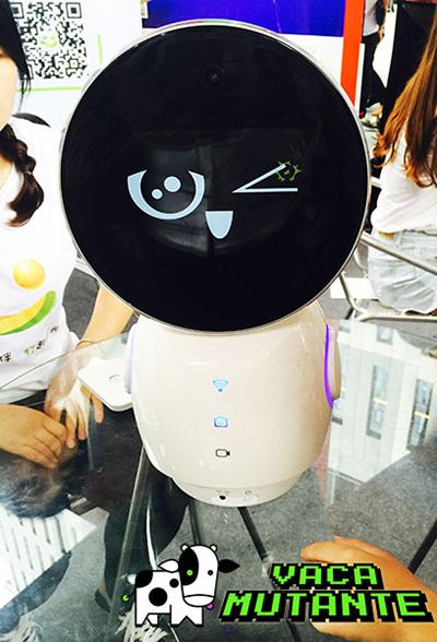 Robotant, el cuidador de niños con reconocimiento facial