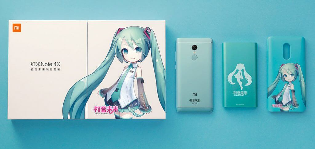 Xiaomi-Redmi-Note-4X-Hatsune-Miku-Edition