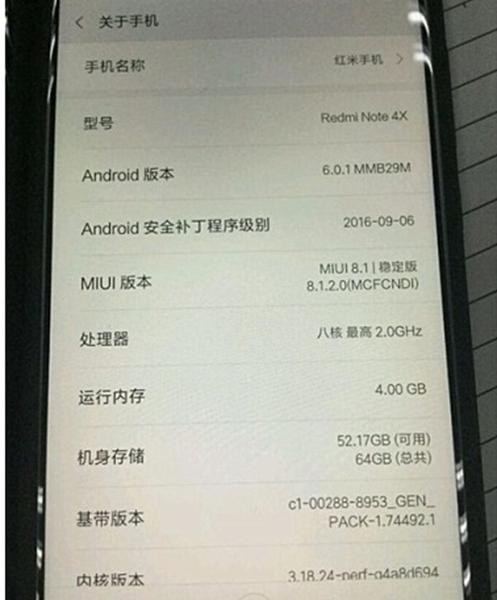 Presentación del Xiaomi Redmi Note 4X o Pro