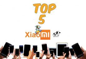 Top 5 mejores móviles Xiaomi del momento
