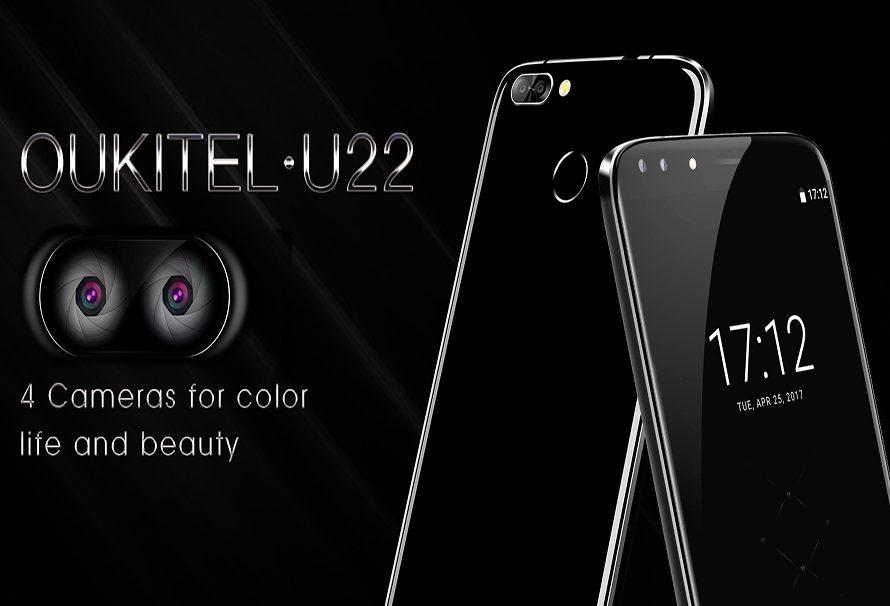 Oukitel U22: descubre el primer smartphone del mercado con cuatro cámaras