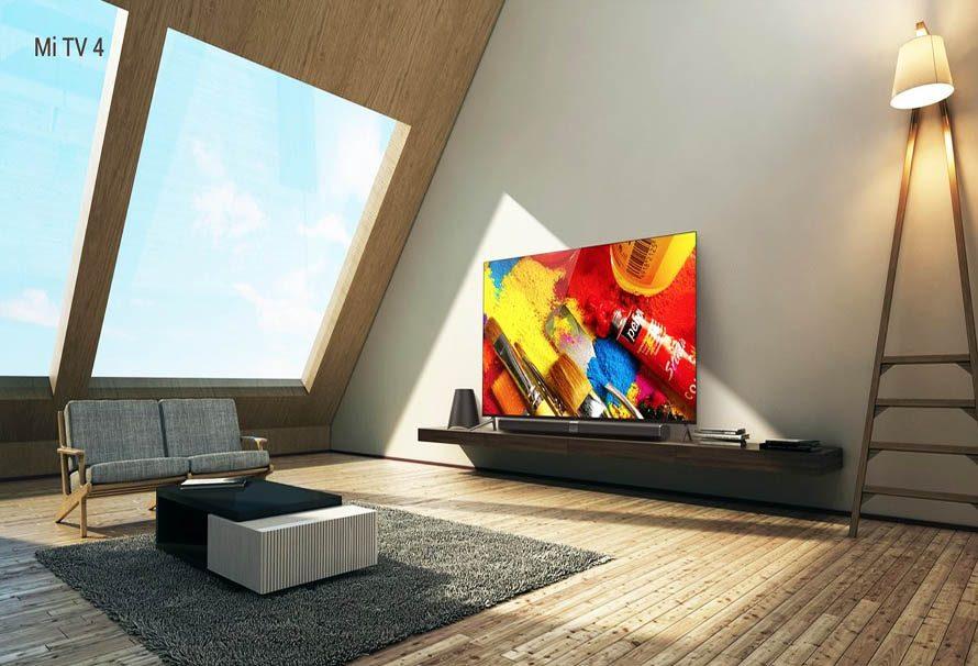 Xiaomi Mi TV 4: El televisor de 4,9 milímetros de grosor