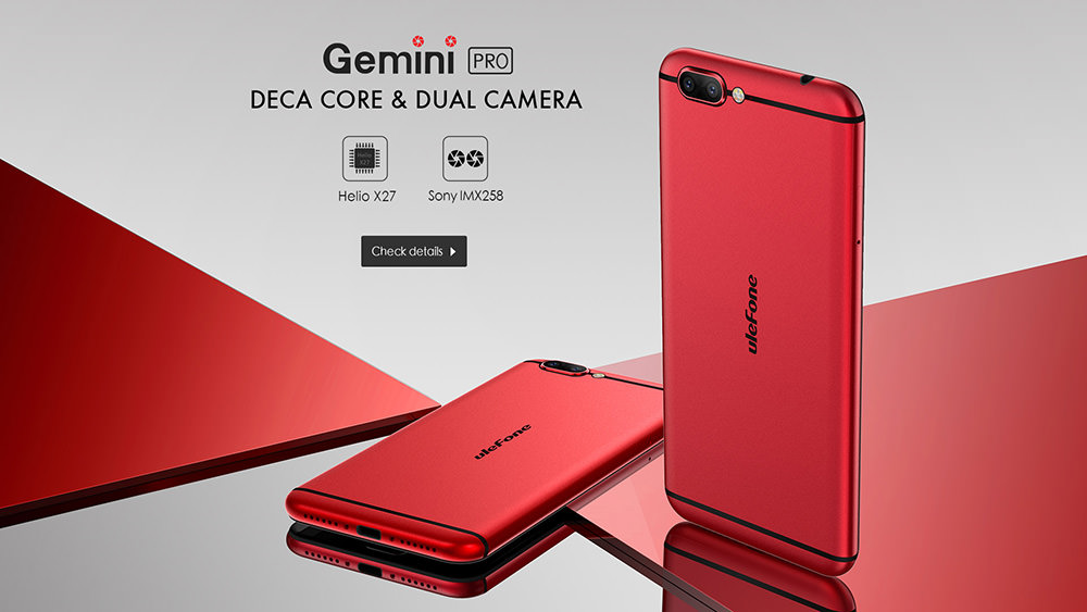 Presentamos el precioso Ulefone Gemini Pro