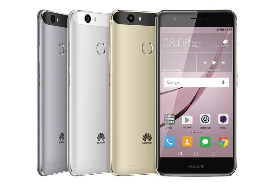 Nuevas imágenes de Huawei Nova 2 y Nova 2 Plus