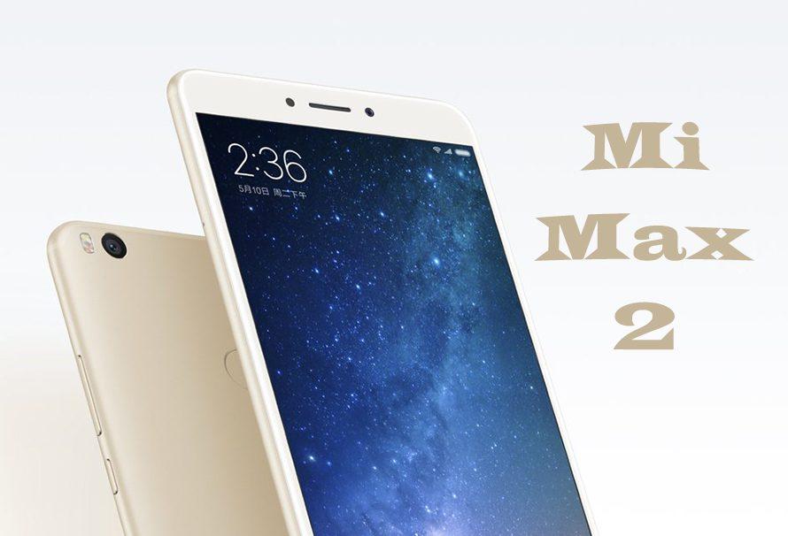 Xiaomi hace oficial el Mi Max 2, un phablet de 6.44 pulgadas
