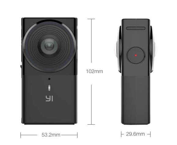 Cámara Xiaomi Yi 360 VR