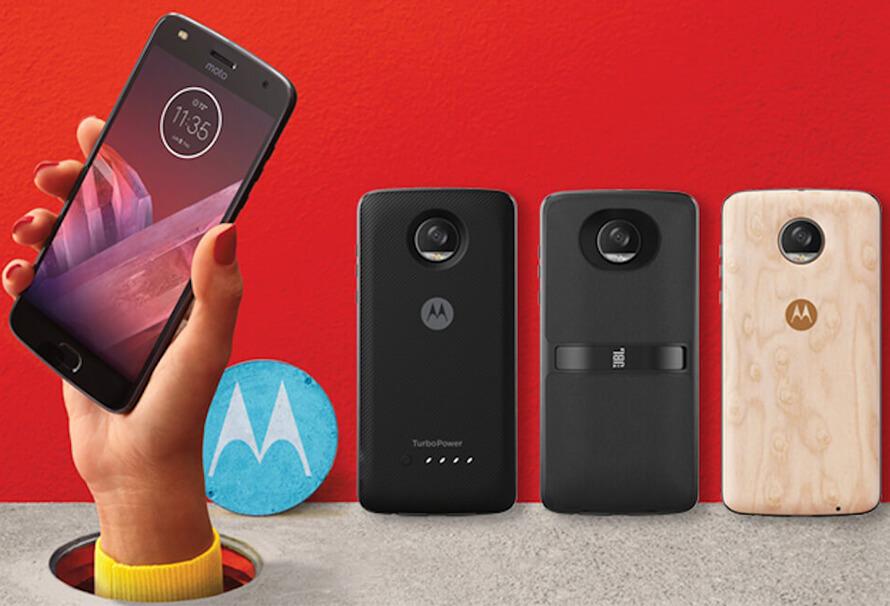 Smartphones de Lenovo Moto
