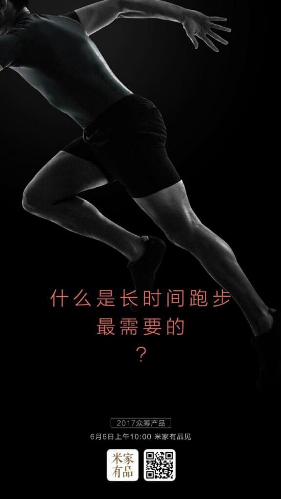 Camiseta inteligente de Xiaomi