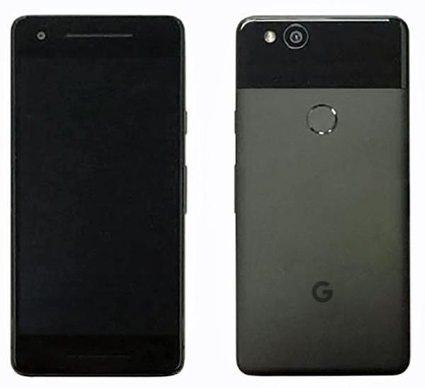 Así luce el Google Pixel 2