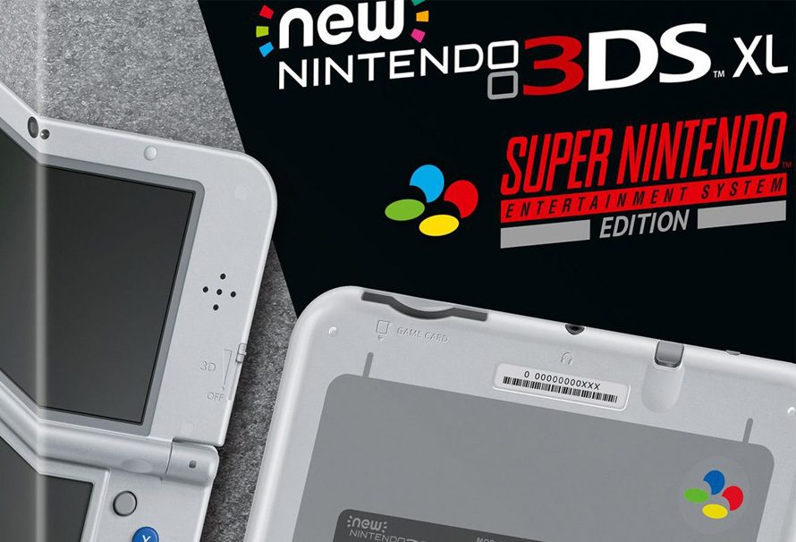 Nintendo 3DS XL Super NES Edition: no juegues con mi corazón, Mario