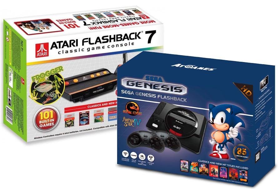 Megadrive y Atari 2600