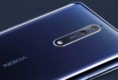 Nokia 8 se hace oficial con cámara dual de Carl Zeiss