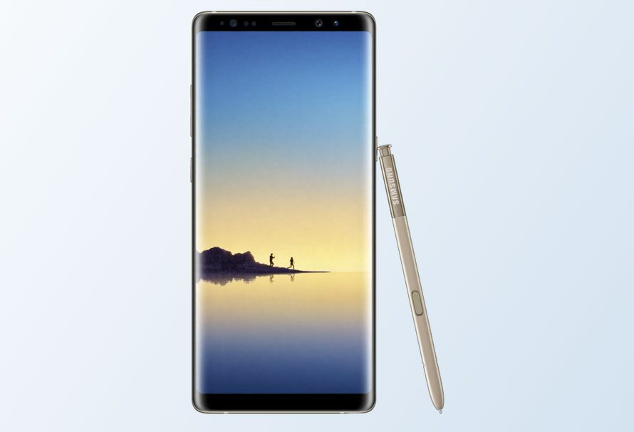 Samsung Note 8: pantalla de sobresaliente