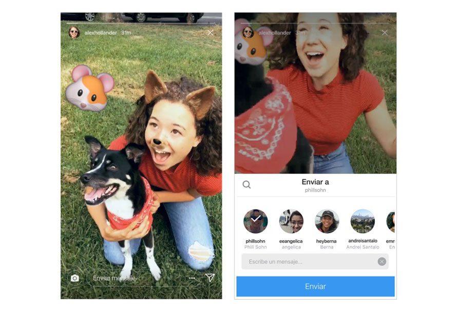 Instagram Stories: compártelo con quien tú quieras