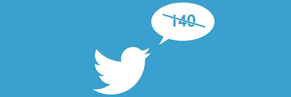 twitter cambia su limite de caracteres