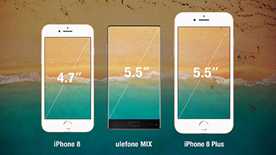 ulefone mix especificaciones