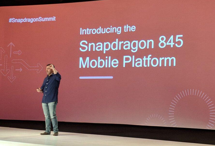 Esta es la lista de smartphones que llevarán Snapdragon 845 en 2018