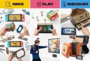 Nintendo Labo: reinventando el cartón