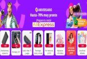 Ofertas y cupones del aniversario de AliExpress