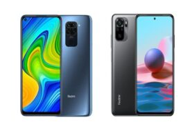 Xiaomi Redmi Note 9 vs Redmi Note 10