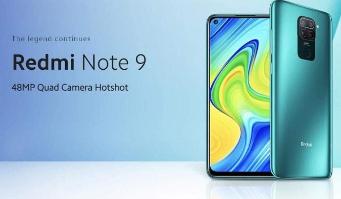 Comprar Xiaomi Redmi Note 9