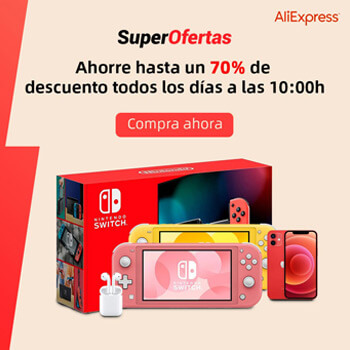aprovecha los Super Deals de AliExpress