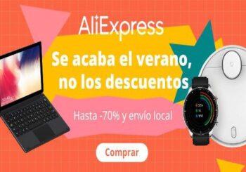 Aprovecha la promoción fin de verano en Aliexpress, cupones y mejores ofertas
